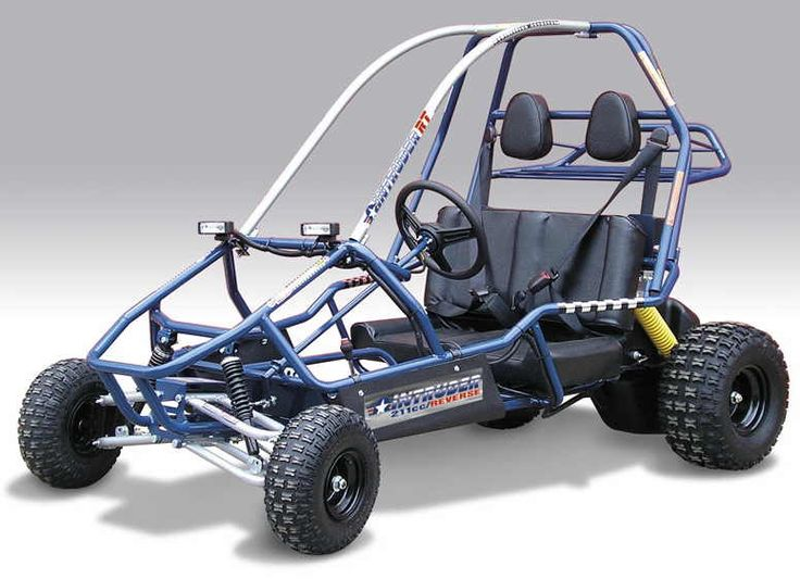 Manco Intruder RT 211cc 2-Seat Go Kart - DISCONTINUED: Go Karts Parts: Racing Kart Parts: Engines: Frames: Tires: Versailles, Ohio: USA: Ind...
