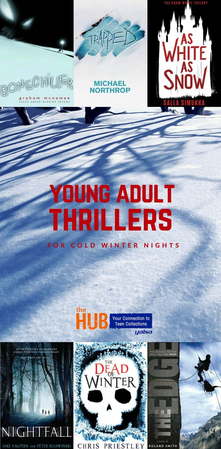 Young Adult Thrillers For Cold Winter Nights
