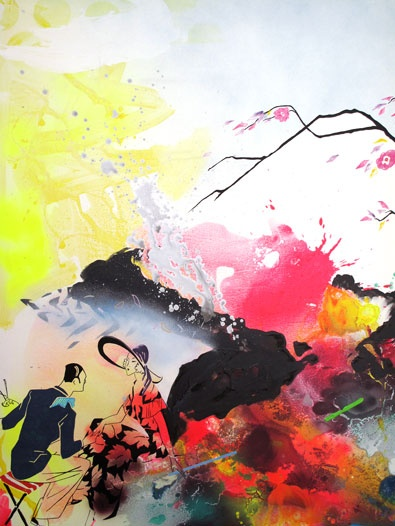 Icelandic dreams _Painting by Clean, Frederik L. Hesseldahl