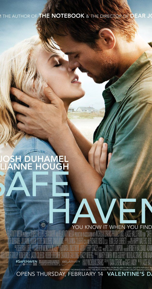 Safe Haven (I) (2013) 115 min  -  Drama | Mystery | Romance  -  14  Ratings: 6.7/10 from 40,206 users    A young woman with a mysterious past lands in Southport, North Carolina where her bond with a widower forces her to confront the dark secret that haunts her.  Bring your tissue.