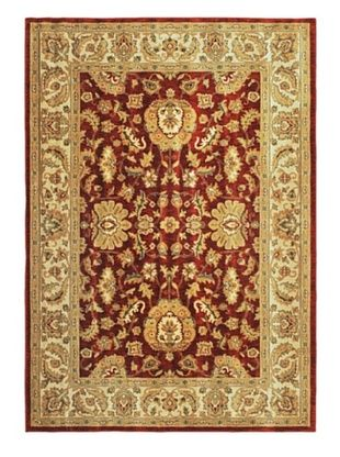 -28,500% OFF Lotus Garden Traditional Rug, Dark Copper, 6' 7