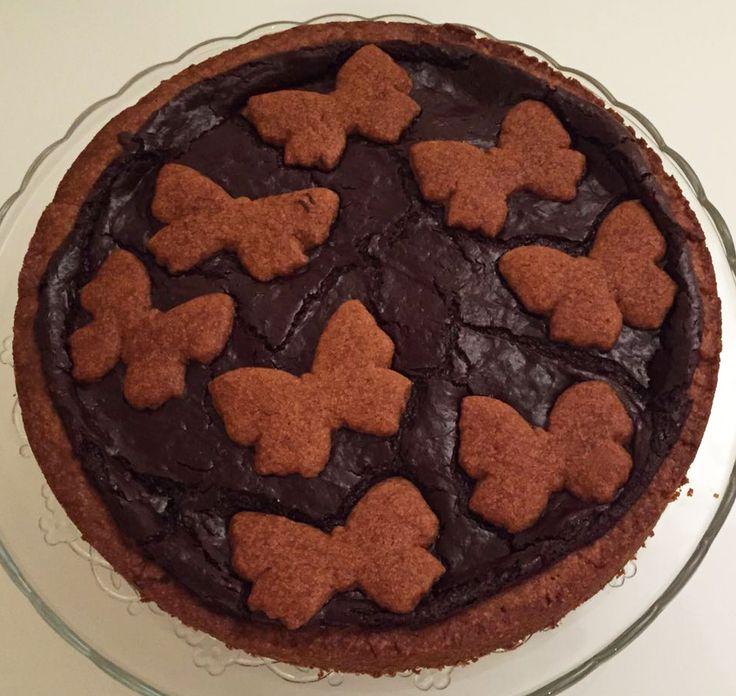 Crostata al cioccolato di Ernst Knam http://blog.giallozafferano.it/vdolci/crostata-al-cioccolato-ernst-knam/