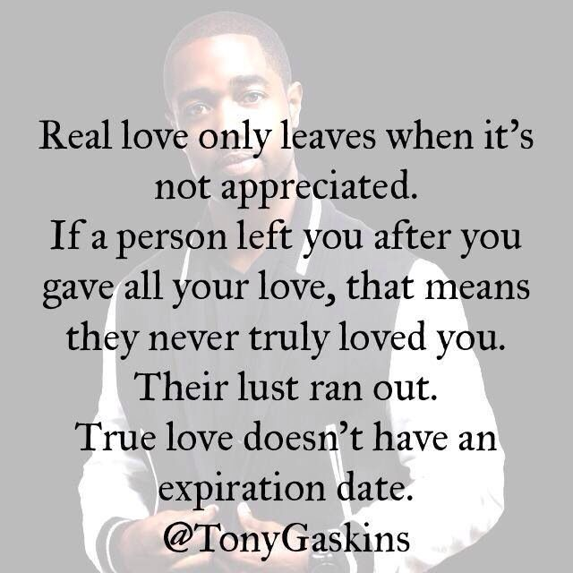 Real love only leaves when it's not appreciated. | Quotes ... Quotes About Not Being Appreciated In A Relationship