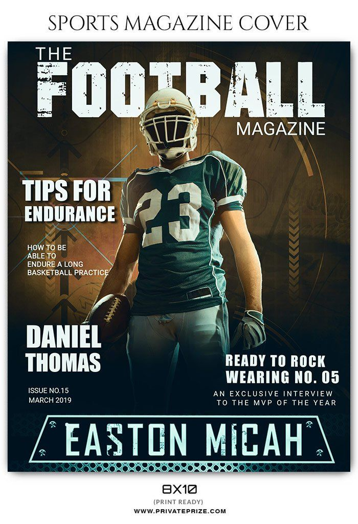 football sports photography magazine cover templates sports