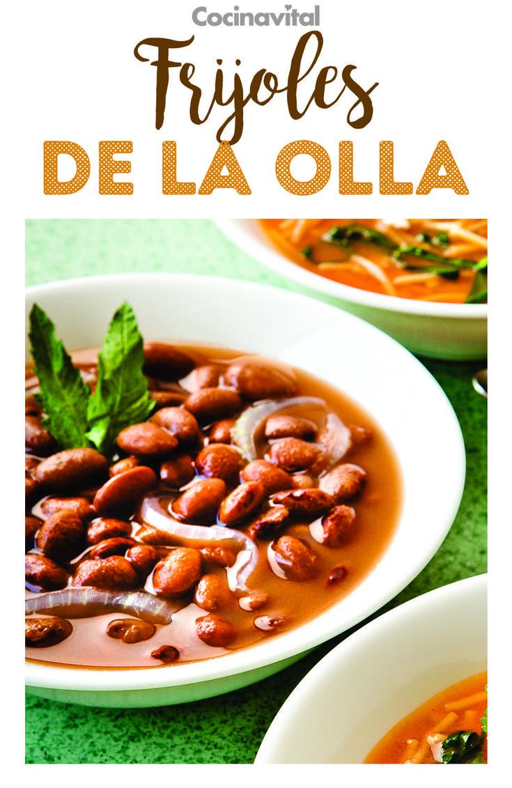 No hay manera más rápida de cocer frijoles que en una olla de presión. Prepara esta clásica receta de frijoles de olla para cualquier ocasión ¡No pueden faltar en tu cocina! #recetas #recetasconfrijoles #recetaseconomicas #cocinamexicana #mexicanrecipes #frijoles #recetasconfrijoles Rubens Recipe, Chili, Yummy Food, Meals, Recipes, Mexican Food Recipes, Deserts, Mexican Night, Chile