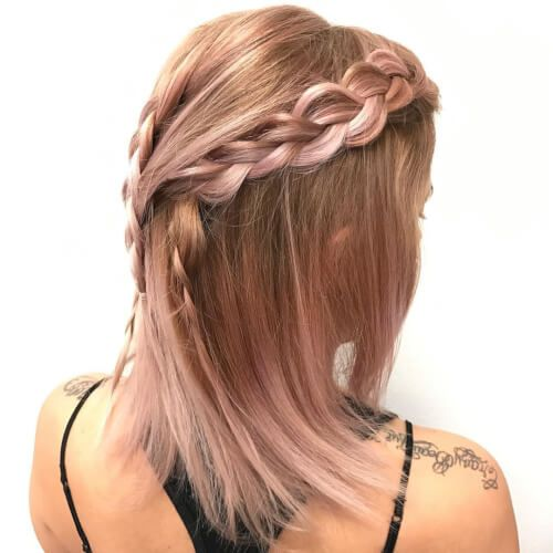 38 best Rose-gold hair images on Pinterest | Gold hair ...