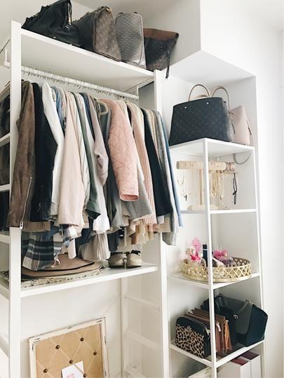Small NYC apartment storage solution @liketoknow.it http://liketk.it/2q0xA #liketkit