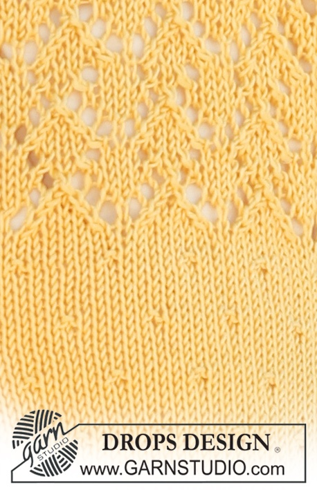 Lace Knitting Pattern Library : 19 best images about Youthful Yellow on Pinterest