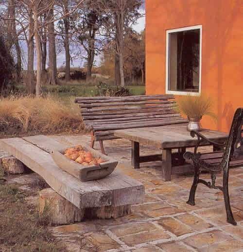 Ampliar foto piso de ladrillos pisos pinterest - Madera para porches ...