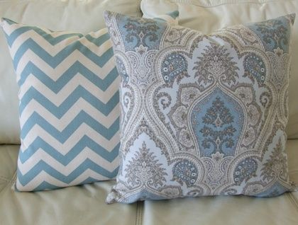 Beautiful Paisley, Neutrals and Blues