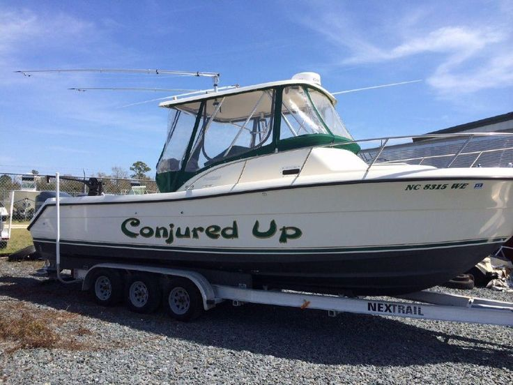 1998 Pursuit 2870 Offshore Yamaha Four Strokes Power Boat For Sale -