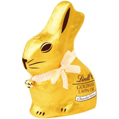 Legendary now - the rabbit by Lindt