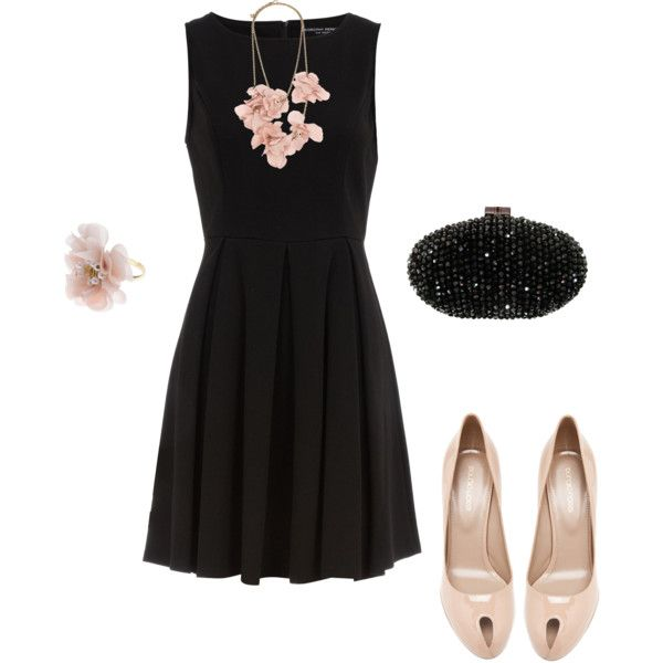 1000 images about lbd wedding guests on pinterest for Black floral dress to a wedding