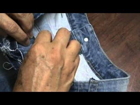 Vídeo aula Ajuste atrás da calça jeans (parte 1) - YouTube