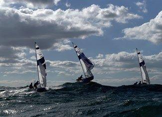Belcher, Mathew, Ryan, Will, Mantis, Panagiotis, Kagialis, Pavlos, Bouvet, Sofian, Mion, Jeremie - Sailing - Australia, Greece, France - 470 Men - 470 Men Race 04 - GLO - Marina da Glória