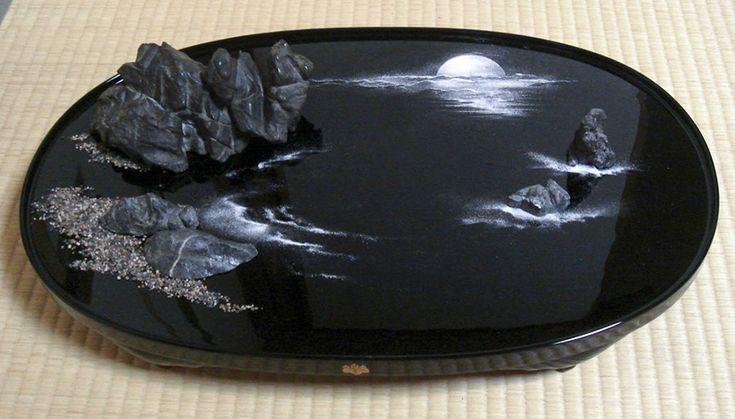 作品ギャラリー_和州遠山流盆石