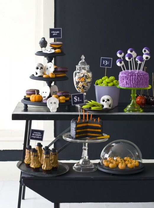 129 best halloween buffet table images on pinterest holidays halloween halloween prop and. Black Bedroom Furniture Sets. Home Design Ideas