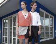 14'SS campaign #fashion #fibula #fibulafashion #fibuladesign #womanswear #womansfashion #manswear #mansfashion #fischervilla #moholynagylaszlo #asymmetric #layers #burmese #longyi #springsummer