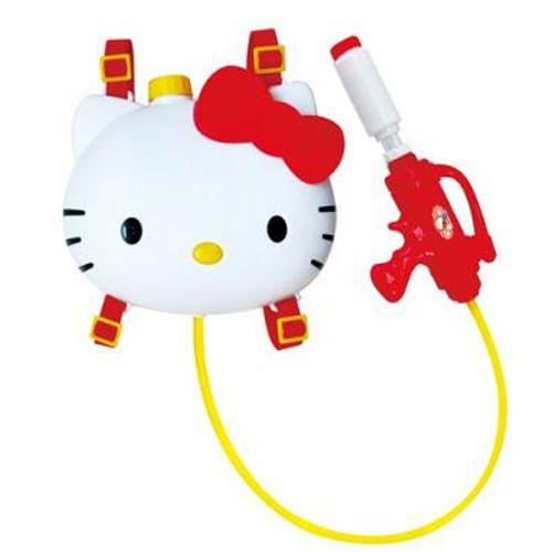 Hello Kitty Backpack Water Gun Squirt Toy Kids Child Girls Summer Swim Play