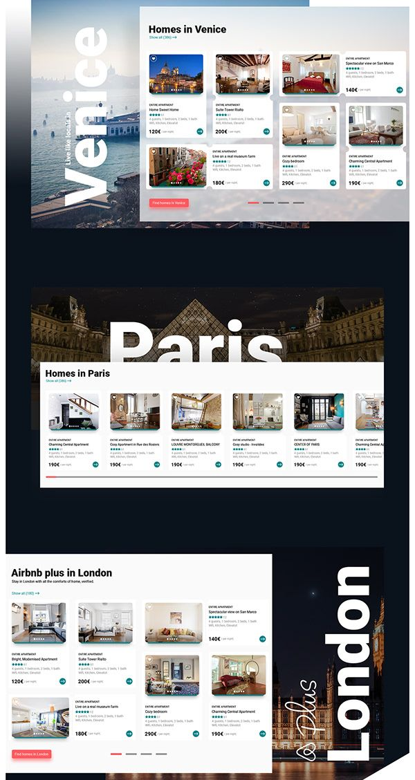 Airbnb Website Redesign Concept On Behance Travel Website Design Webpage Design Website Redesign