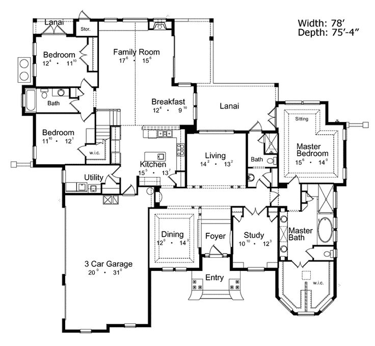 17 Best Images About Floor Plans On Pinterest Home Plans