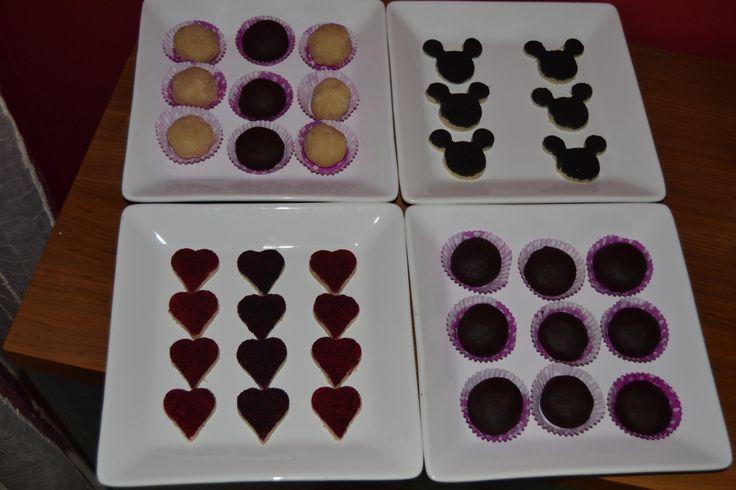 Os nossos doces