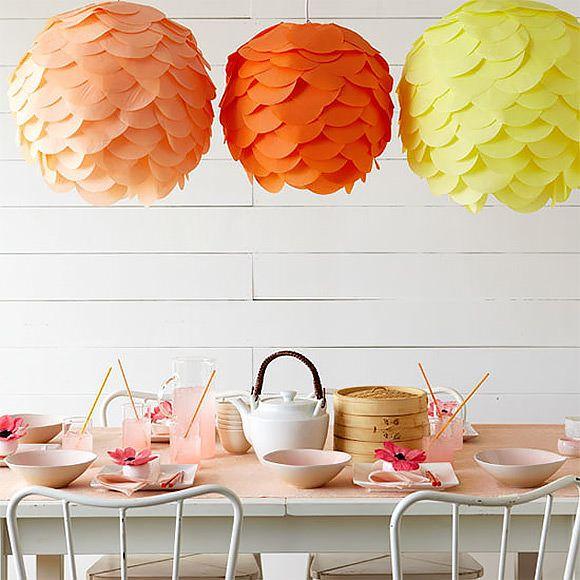DIY Tissue Paper Lantern