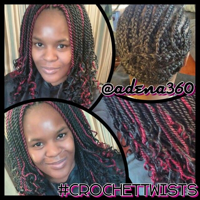 Crochet Braids Yahoo : images about Crochet twists w/Pre-Braided hair on Pinterest Crochet ...