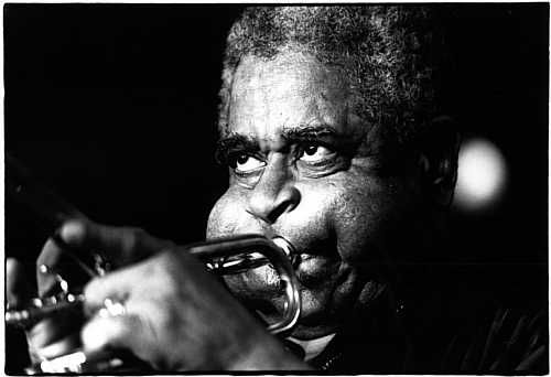 Dizzy does trumpet!