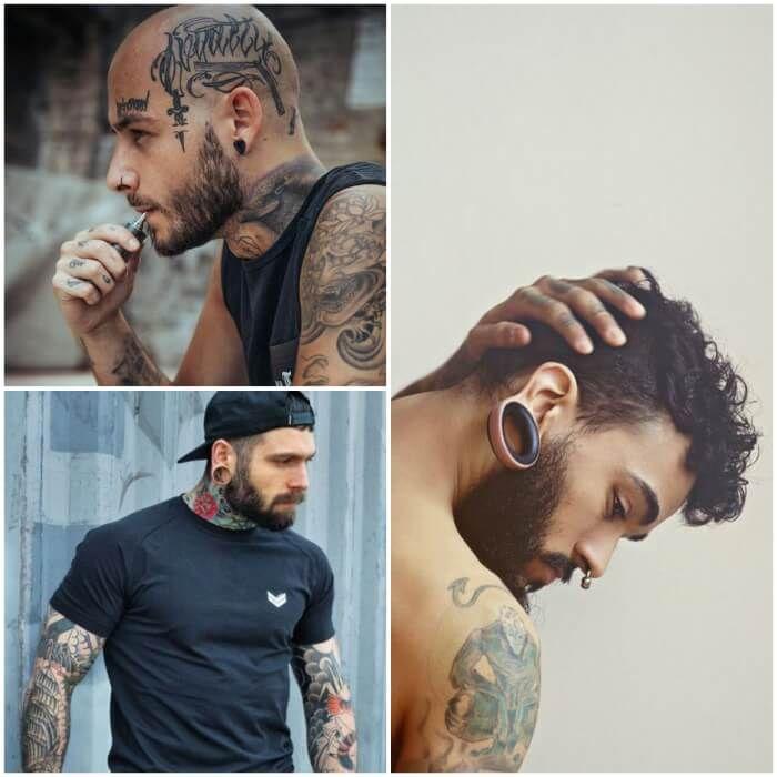 Best Men's Ear Piercing Ideas - Where to Buy Mens Earrings