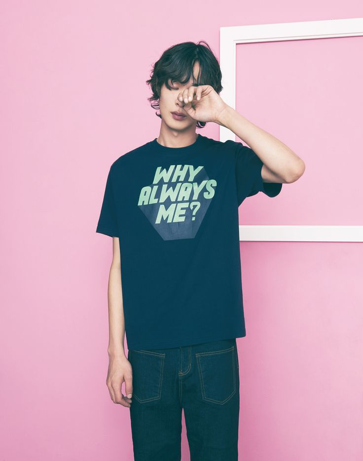 "FREIKNOCK 17S/S LOOKBOOK ""REFORMATION"" FREIKNOCK ""WHY ALWAYS ME?"" PRINTED T-SHIRTS"
