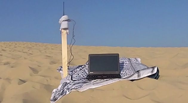 Anonymous' radio-based networking keeps protesters off the grid