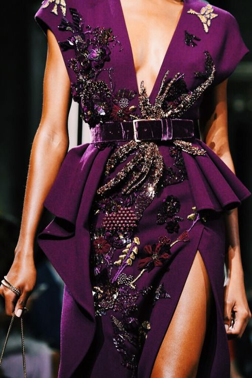 Touch & Strut Baby • Details at Elie Saab Fall 2016 Haute Couture ...