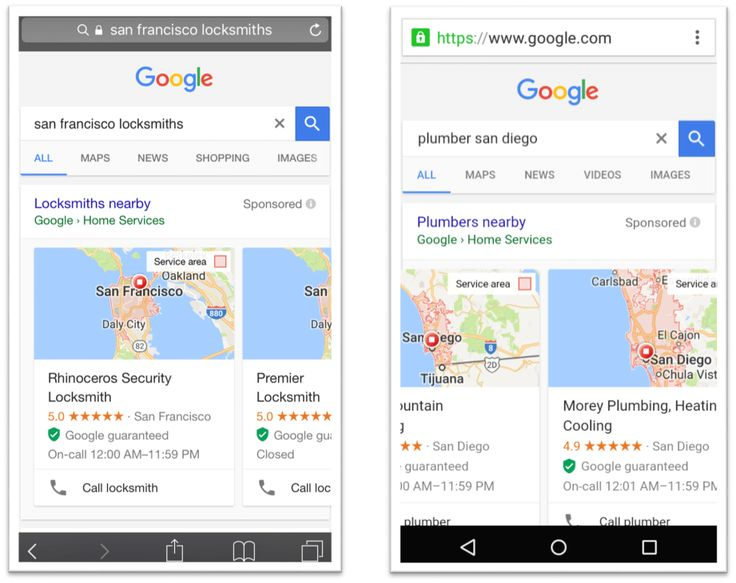 Google Home Services Ads roll out on mobile. #SEO #mobile #SERP #Google