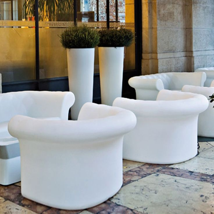 Serralunga: Outdoor Design And Plastic Furniture, Illuminated Pots And Big  Vases, Garden Lights Design Made In Italy.