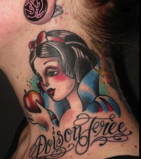 straight edge snow white