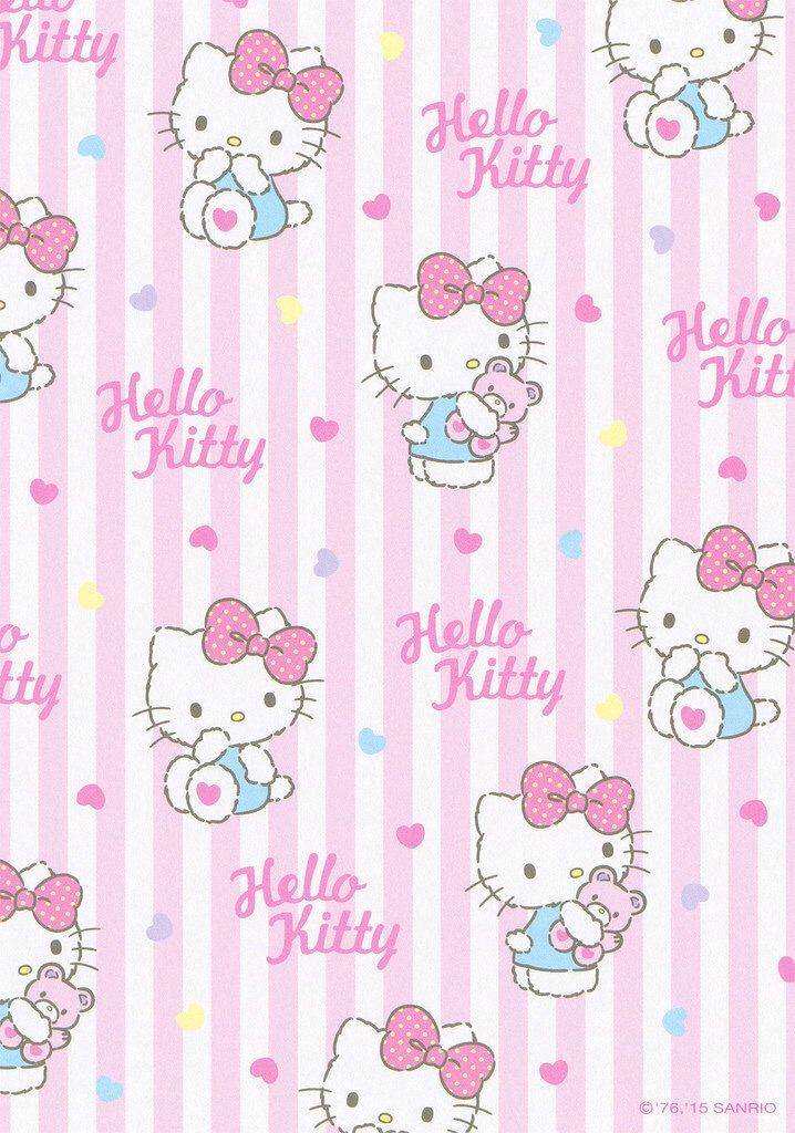 Aesthetic Wallpaper Hello Kitty