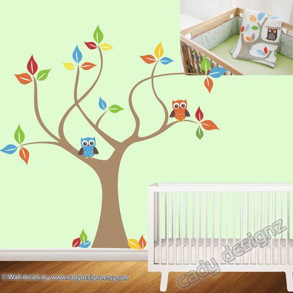 Vinyl Wall Tree Decal  Skip Hop Treetop Friends  by CadyDesignz, $80.00