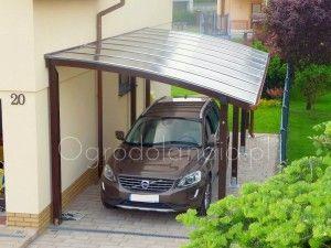 Carport POLA 3 (wiata garażowa przyścienna)