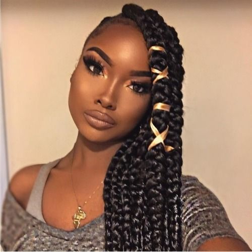 Best 25+ Single braids hairstyles ideas on Pinterest ...