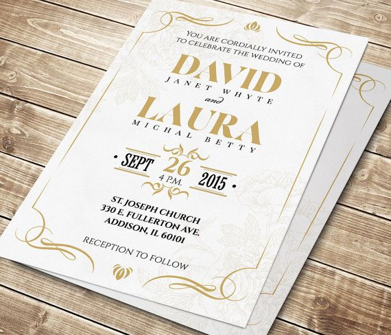 17 best ideas about elegant wedding invitations on pinterest, Wedding invitations