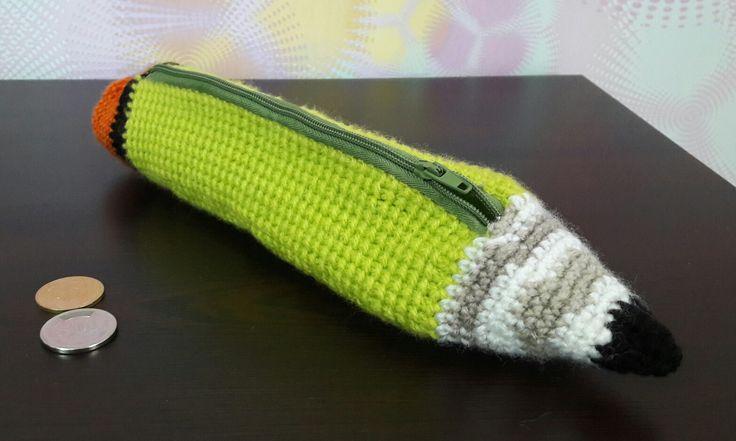 17 Best ideas about Crochet Pencil Case on Pinterest ...