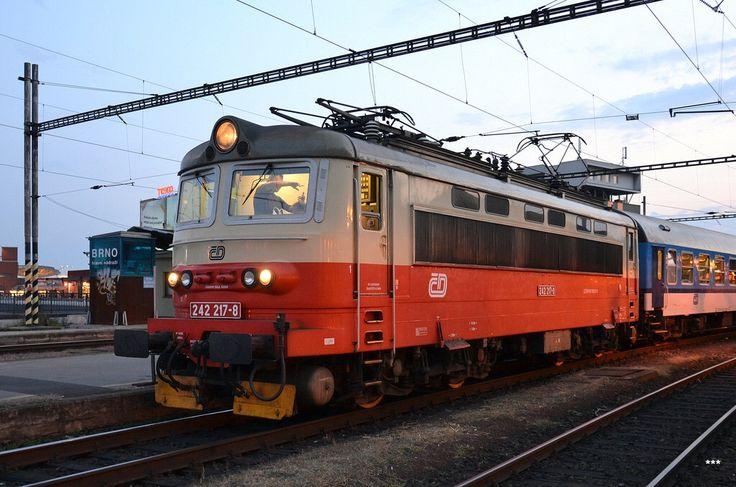 Škoda Electric Locomotive in Czech Republic
