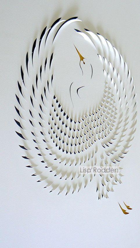 Crane by Lisa Rodden, Australian artist