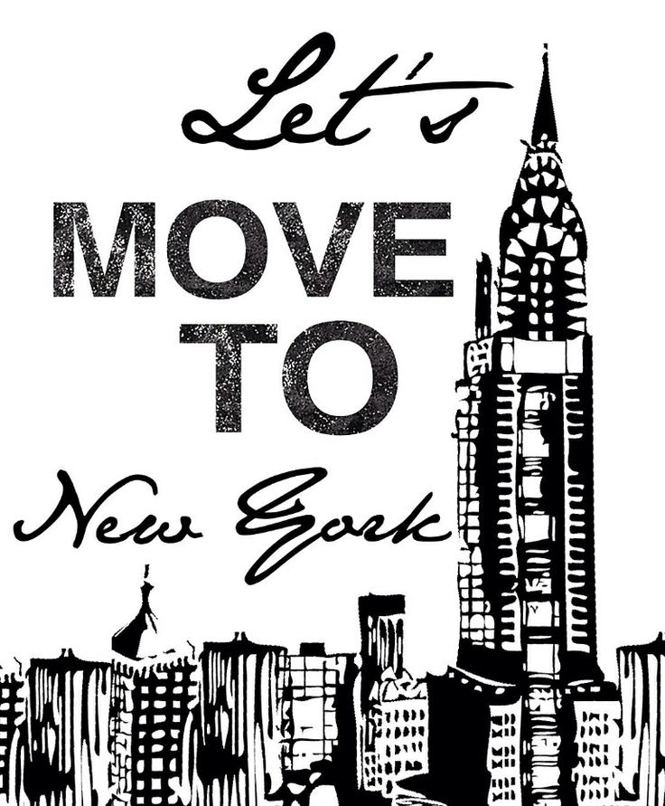 Let's move to New York