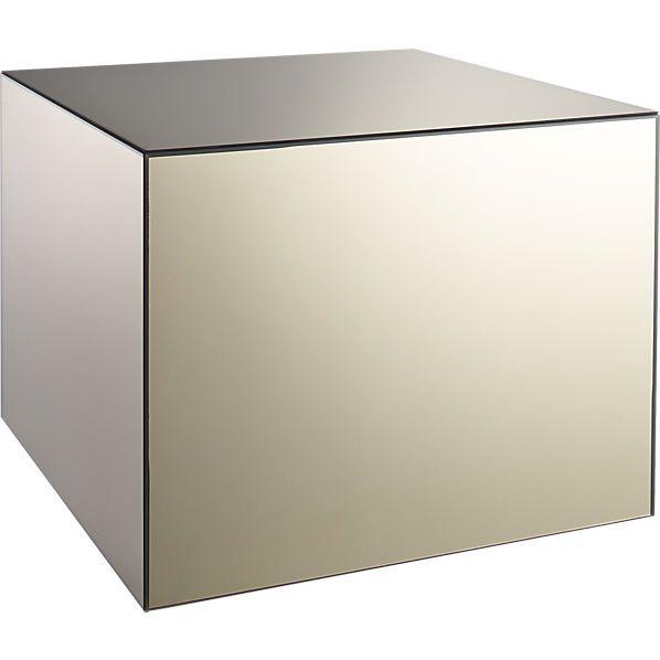 Fantastisch City Slicker Mirror Side Table