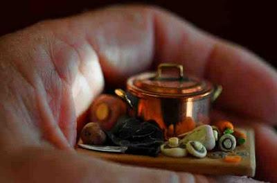 ~: Tiny Foods, Miniatures Foods, Mini Food, Artisan Miniatures, Bandejas Miniatura, Miniature Food, 001 Miniatures, Miniatures 1 6
