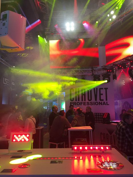 Prolight + Sound 2016 PLS 2016 Chauvet