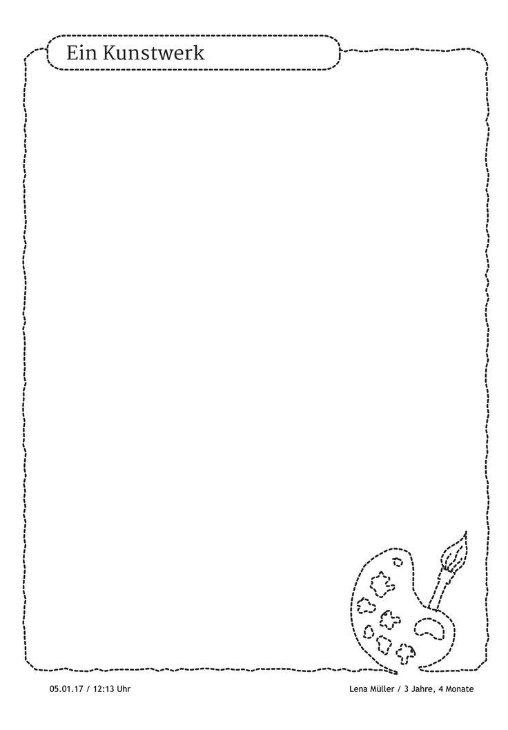 """""""Ich kann schon malen wie Picasso, van Gogh und Dali. Alle meine Bilder kommen in meinen Portfolio-Ordner. Somit habe ich meine eigene kleine Sammlung."""" https://stepfolio.de/  #Maler #Picasso #Portfolioeintrag #Portfolio #Kinder #Kindergarten #Kitaapp #stepfolio #Kita #Portfoliovorlagen"""
