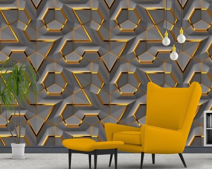 3d Modern Minimalist Nordic Abstract Watercolor Hand Painted Feather Lines Tv Mural Background Wallpaper Wall Murals In 2021 Grey Lattice Wallpaper Textured Wallpaper Gold Walls